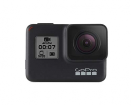 GoPro  HERO7  Schwarz - Actionkamera  mit  Touchscreen,  4K-HD-Videos ✪