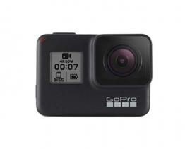 GoPro  HERO7  Schwarz - Actionkamera  mit  Touchscreen,  4K-HD-Videos ✪