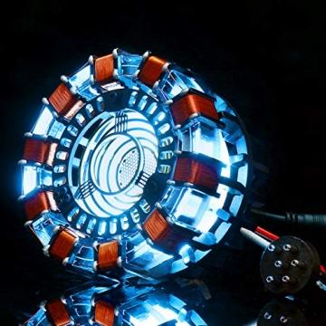 ARC Reaktor - Herz von Tony Stark aus Iron Man (Mark 1) (Modellbau Set mit LED) ✪