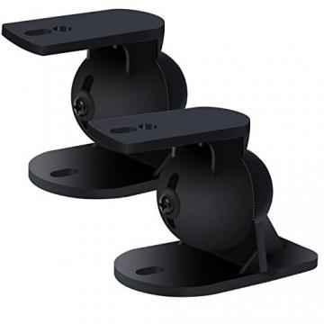 Incutex Universal Lautsprecher Wandhalterung - 4 Stück (2 Paar) ✪