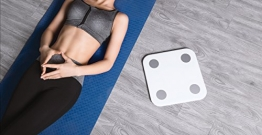 Xiaomi Body Scale - smarte Körperfett Waage mit App für Android & iOS ✪
