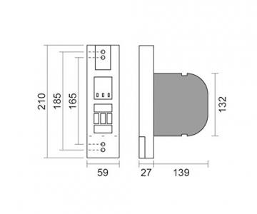 Schellenberg RolloDrive 65 Premium Funk-Gurtwickler [Unterputz] ✪