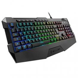 Sharkoon Skiller SGK4 Gaming Tastatur RGB (Deutsches Tastaturlayout) ✪