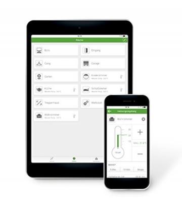Smart Friends Box – Smart Home Zentrale für Produkte von ABUS, Schellenberg, Paulmann, STEINEL ✪