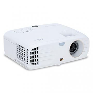 Viewsonic PX747-4K UHD Heimkino DLP Projektor (4K, 3.500 ANSI Lumen, 2x HDMI, 10 Watt Lautsprecher, 1.2x optischer Zoom, HDR) ✪