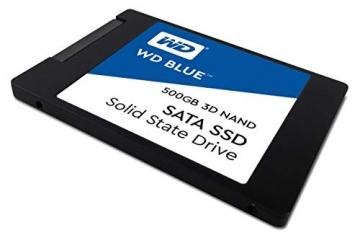 Western Digital WDS500G2B0A WD Blue 500GB  3D NAND Internal SSD 2.5