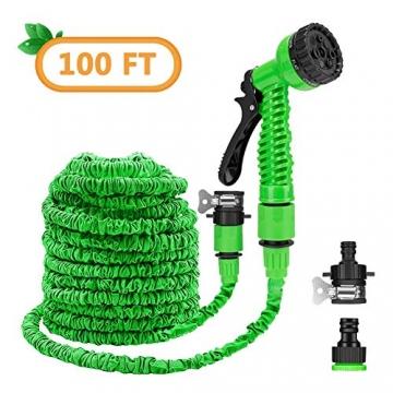 Flexibler Gartenschlauch, 100 FT Flexischlauch ✪