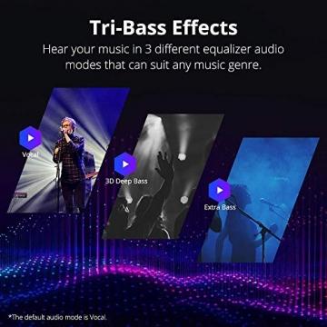 Tronsmart T6 Plus 40W Outdoor Bluetooth Lautsprecher mit Tri-Bass-Effekten, Powerbank, wasserdichtes IPX6, 15-Stunden Spielzeit Sprachassistent und Mikrofon ✪