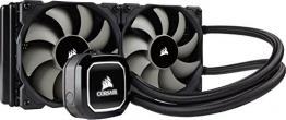 Corsair Hydro H100x Wasserkühlung (2 x 120mm Lüfter, All-In-One High Performance CPU)✪