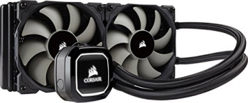 Corsair Hydro H100x Wasserkühlung (2 x 120mm Lüfter, All-In-One High Performance CPU)✪