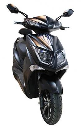 Elektroroller Hawk 3000 E-Scooter 3000 Watt Elektro E Roller mit Straßenzulassung 45 km/h, (LiPo Akku) ✪