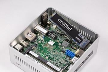 Crucial MX500 CT500MX500SSD4 500GB (3D NAND, SATA, M.2 Type 2280, Internes SSD) ✪