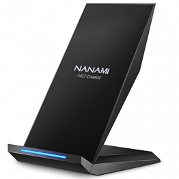 NANAMI Qi Ladegerät - Fast Wireless Charge Ladestation ✪