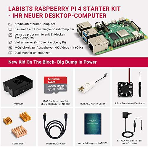 Mein Wohnzimmer Ikea Ektorp Kupfer Taupe: » LABISTS Raspberry Pi 4 Model B 4 GB Ultimatives Kit Mit