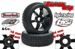 Narrow-Grip Y0658 Reifen + Felgen für Worx Landroid Rasenmäher Roboter (3D Druck benötigt)