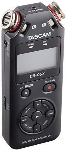 Tascam DR-05X Tragbarer Audiorekorder (Nachfolger vom DR-05) ✪