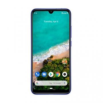 Xiaomi Mi A3 Smartphone 6,088 Zoll HD+ AMOLED Display, 128GB interner Speicher + 4GB RAM, 48MP 3fach-KI-Rückkamera, 32MP Selfie-Frontkamera ✪
