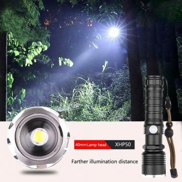 XHP 70 LED Outdoor Wasserdichte Taschenlampe mit Zoom ✪