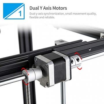Creality 3D Ender 5 3D-Drucker mit Resume-Printing-Funktion (220 * 220 * 300mm Druckgröße)✪