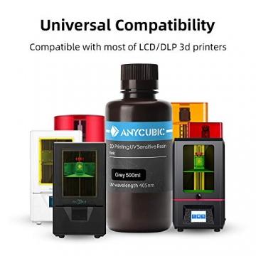 ANYCUBIC 3D Drucker UV Resin 405nm schnellhärtendes Photopolymer für Photon Resin 3D Drucker ✪