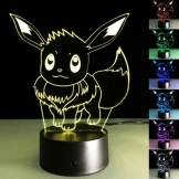 Pokemon 3D LED Tischlampe – Evoli ✪