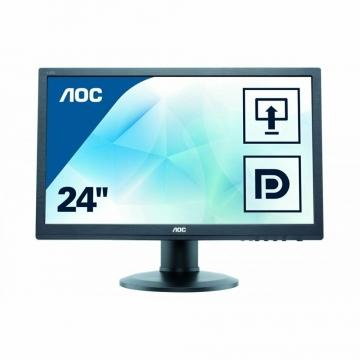 AOC 24 Zoll FullHD Monitur (E2460PQ 61cm) ✪