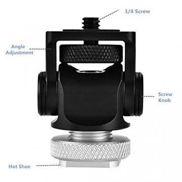 1/4 '' Schraube Hot Shoe Mount für Monitor ✪