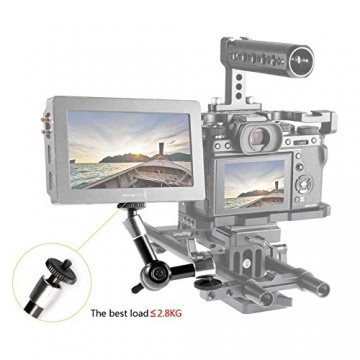 SMALLRIG Magic Arm 5 Zoll für Monitor EVF Videokamera Rig-2065 ✪