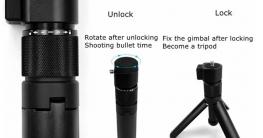 Tripod mit Rotier Funktion für Insta360 Kameras ✪