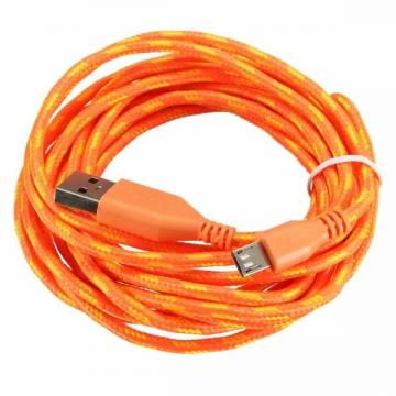 Micro USB Kabel in verschiedenen Farben 3 Meter Lang ✪