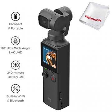 Xiaomi FIMI Palm - Handheld 4K Kamera mit 3-Achsen Gimbal Stabilisator ✪