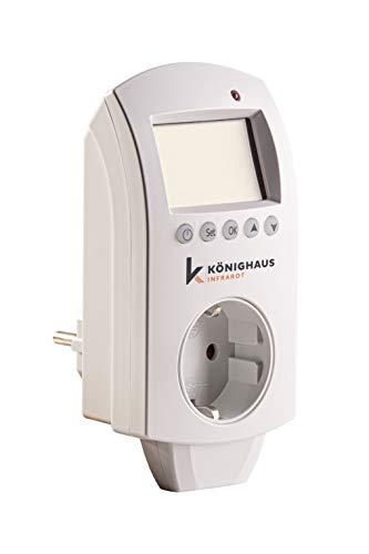 Könighaus WiFi Thermostat für Infrarotheizung + Thermostat und App für Ihr Smart Home ✪