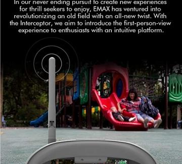 EMAX Interceptor - Ferngesteuertes Auto mit Live Video Übertragung - (Auto+Fernsteuerung+Video Brille)✪
