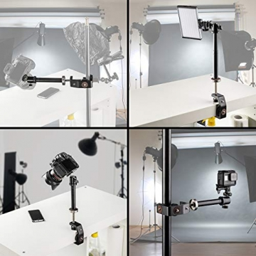 Walimex Klemmstativ Tischstativ für Digitalkameras und Spiegelreflexkameras ✪