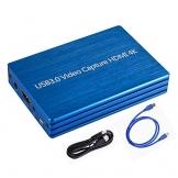 HDMI-zu-USB 3.0 - 1080p 30fps Capture Card mit HDMI Durchgang ✪