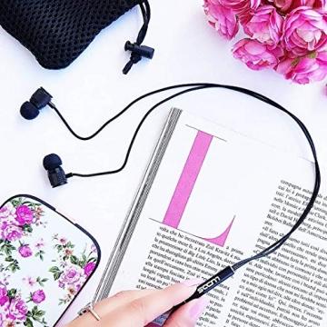 LUDOS Ultra Kopfhörer - In Ear Kopfhörer mit Memory Schaum & Headset Funktion ✪