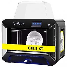 QIDI TECH X-Plus Premium 3D-Drucker für intelligentes industrielles 3D-Drucken mit Nylon, Kohlefaser (270 x 200 x 200mm) ✪