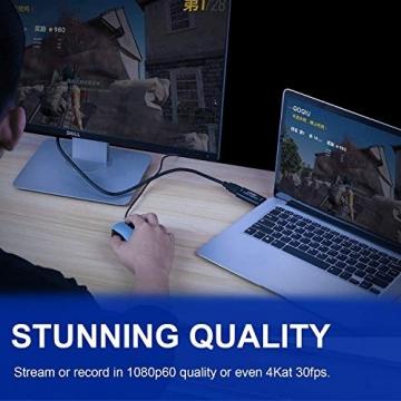HDMI-zu-USB 2.0 - 1080p 30fps Capture Card ✪
