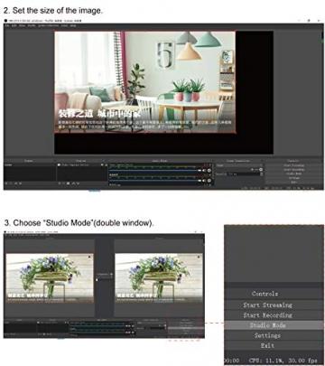 HDMI-zu-USB 2.0 - 1080p 30fps Capture Card mit HDMI Durchgang ✪