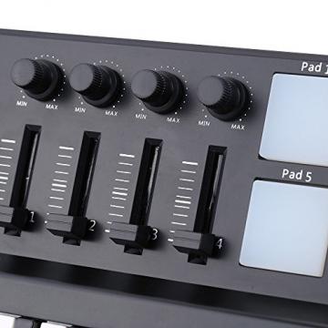 Worlde Panda Mini - Midi-USB-Keyboard Mit 25 Tasten Und Drum-pad-Controller ✪