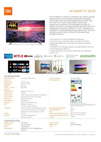 Xiaomi Mi Smart TV 4S 65
