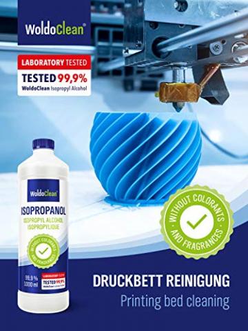 Isopropanol 99,9% Reinigungsalkohol - 3x 1 Liter ✪