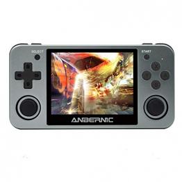 Anbernic RG350-Retro-Spielekonsole - Portabler Emulator für Gameboy, PlayStation, N64 & mehr ✪