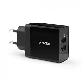 Anker 24W 2-Port USB Ladegerät mit PowerIQ Technologie ✪
