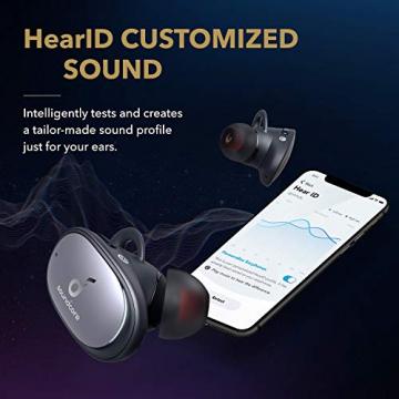 Anker Soundcore Liberty 2 Pro, True Wireless In-Ear Kopfhörer, Bluetooth Ohrhörer, Astria Coaxial Acoustic Architecture, 32 Std Akku, personalisierter EQ, HearID, kabelloses Laden ✪