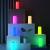 AUKEY Tischlampe RGB Berührungssensitive Nachttischlampe Mit Timer-Funktion, Dimmbares Warmweißes Licht & Farbwechsel, Nachtlicht Mit Memory-Funktion Für Wohn- und Schlafzimmer ✪