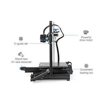 Creality 3D® Ender-3 V2 Verbesserter DIY 3D-Drucker (220 x 220 x 250 mm Druckgröße) ✪