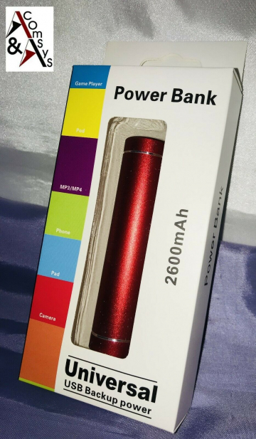 Powerbank USB 2600mAh ✪