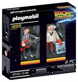 PLAYMOBIL Back to the Future 70459 Marty McFly und Dr. Emmett Brown, Ab 6 Jahren ✪