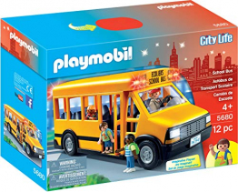PLAYMOBIL School Bus Vehicle Playset ✪